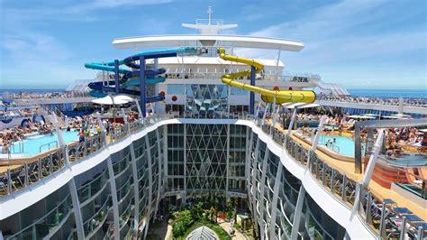 Worlds Largest Cruise Ship Royal Caribbean Harmony Of The ...