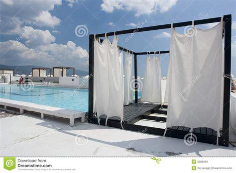 tent beside pool stock photos image 3008343