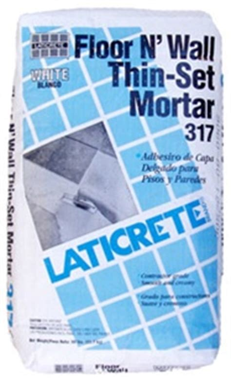 Laticrete Thinset For Glass Tile by Laticrete 317 Thinset Gray