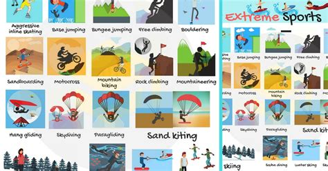 extreme sports list  adventure sports  pictures