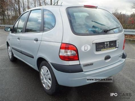 renault scenic 2002 specifications 2002 renault scenic 1 6 16v car photo and specs