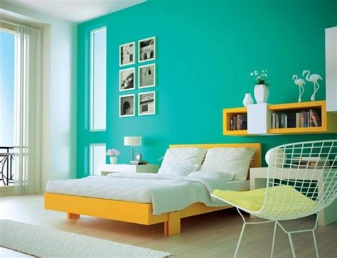 awesome apartment bedroom decorating with light blue wall