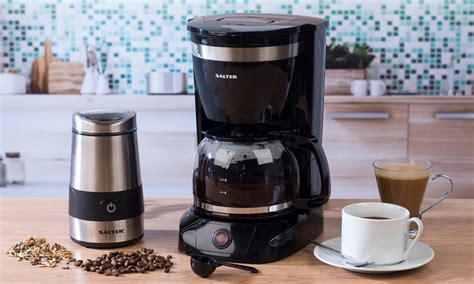 However, quality beans and filtered water trump grind, so just get what you can!) Up To 45% Off Salter Coffee Maker or Grinder | Groupon