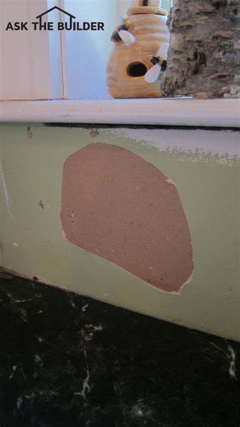 Drywall Paper Repair Tips   Ask the Builder