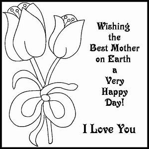 Mothers Day Coloring Pages - GetColoringPages.com