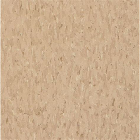 vct vinyl tile armstrong imperial texture vct 12 in x 12 in nougat commercial vinyl tile 45 sq ft case