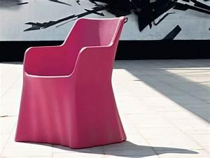 Fauteuil En Plastique : fauteuil de jardin en plastique avec accoudoirs phantom by ~ Edinachiropracticcenter.com Idées de Décoration