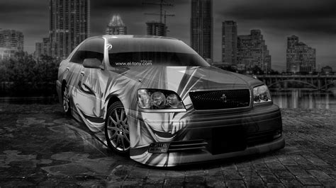 toyota crown athlete jdm anime bleach aerography city car