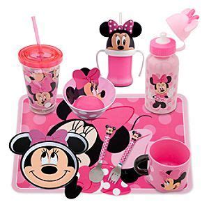 Mickey Mouse Kitchen Essentials Collection by Disney Minnie Mouse Meal Time Magic Collection Disney