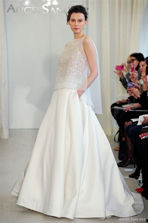 angel sanchez  wedding dresses wedding inspirasi