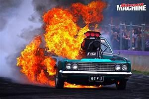 MASSIVE ENGINE FIRE AT LARDNER PARK MOTORFEST - VIDEO