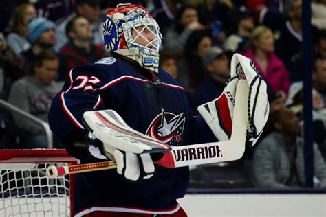 columbus blue jackets options  sergei bobrovsky