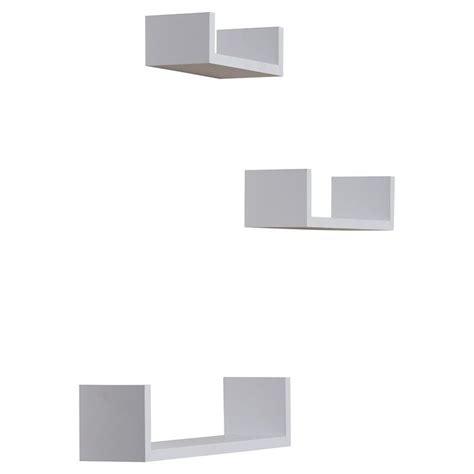 wickes  piece floating shelf set floating shelves