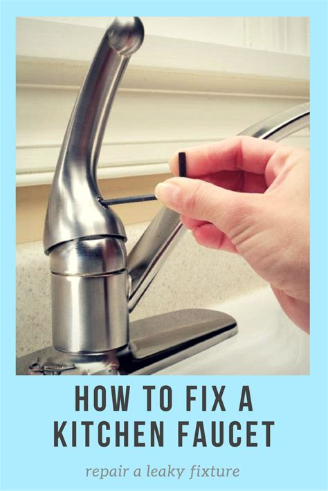How To Take Apart Moen Kitchen Faucet by How To Fix A Kitchen Faucet Repair A Leaky Fixture And