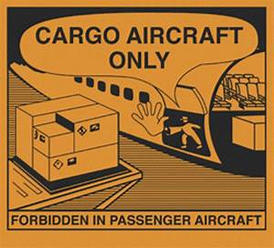 label cargo aircraft only iata cpcqinq With cargo aircraft only label