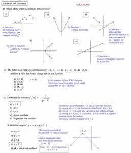 Math Plane - Domain & Range - Functions & Relations