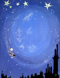 Illustration For Peter Pan By J M Barrie Painting by Anne