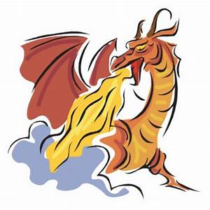 Fire Breathing Dragon Cartoon - Cliparts.co