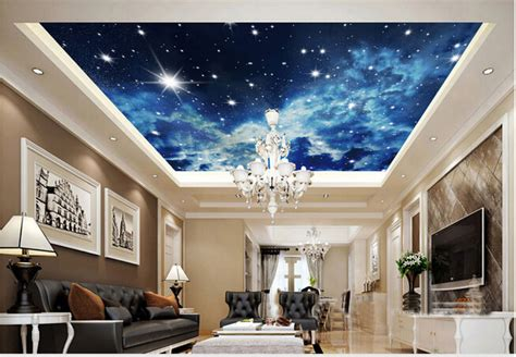 someone had a great idea for a ceiling painting in a