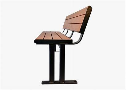 Side Chair Bench Park Clipart Cartoon Transparent