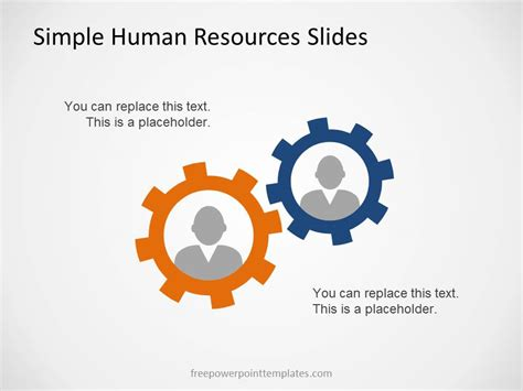 hr ppt templates free simple human resources slides for powerpoint