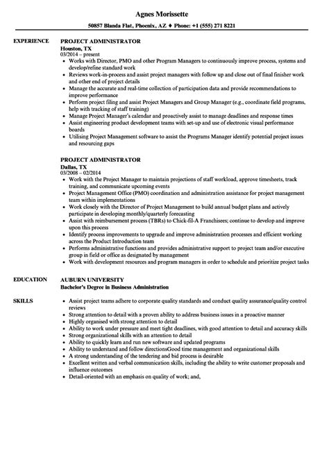 Project Administrator Resume by Project Administrator Resume Sles Velvet