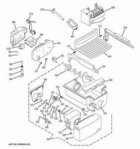 Ice Maker  U0026 Dispenser Diagram  U0026 Parts List For Model Gshf5kgxccbb Ge