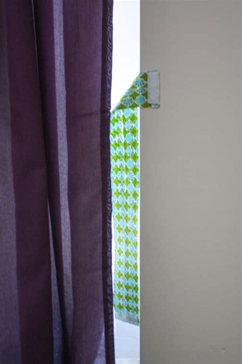 Fabric For Curtains Diy by Diy Fabric Curtain Ties This Tale