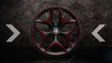 authentic accessories  alfa romeo stelvio wheels