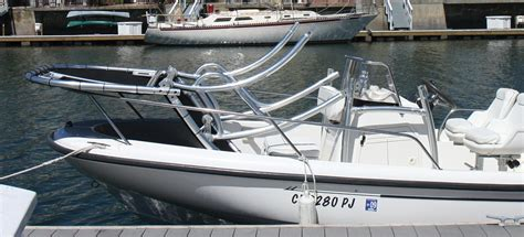 Folding T Top For Center Console Boats by Stryker T Top Announces A New Multi Function Universal T