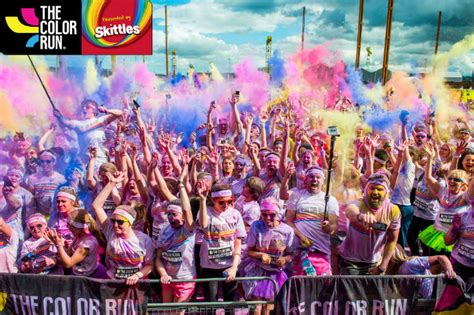 color run los angeles win tickets to the color run presented by skittles