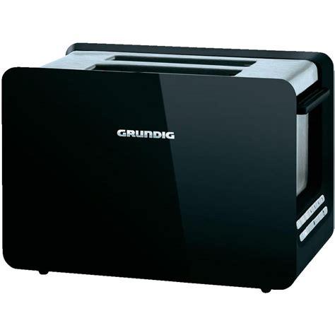 toaster mit integriertem brötchenaufsatz toaster mit br 246 tchenaufsatz grundig ta 7280 schwarz edelstahl im conrad shop 398637
