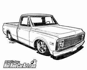 1970 chevrolet c10 truck clip art cars c10 trucks and With 1960 ford f100 4x4