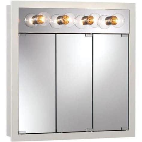 home depot medicine cabinets with lights granville 30 in w x 30 in h x 4 75 in d surface mount