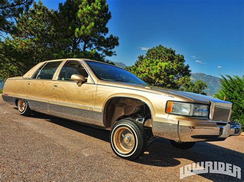 Lowrider Cadillac by 1993 Cadillac Fleetwood Lowrider Magazine