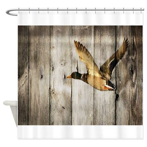 duck shower curtain barnwood duck shower curtain by admin cp62325139