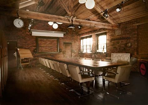 rustic conference room conference room interior design one decor