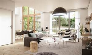 3 natural interior concepts with floor to ceiling windows With 3 bright unique inspirations home interior design
