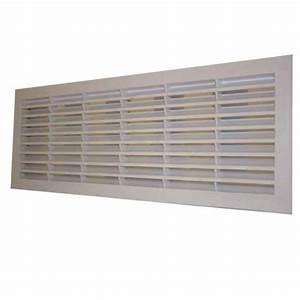 Grille de ventilation pour porte de garage sectionnelle et for Grille aeration porte garage