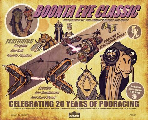20 Years of Podracing by Brian DeGuire | Star Wars ...