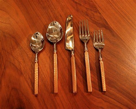 copper flatware rustic flatware copper flatware anteks home furnishings