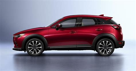 Mazda Cx-3 Gets A Modest Update For 2019