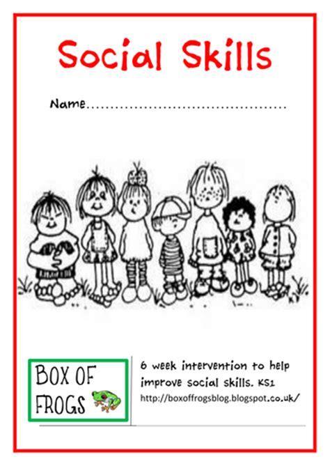 social skills intervention programme by boxoffrogsblog