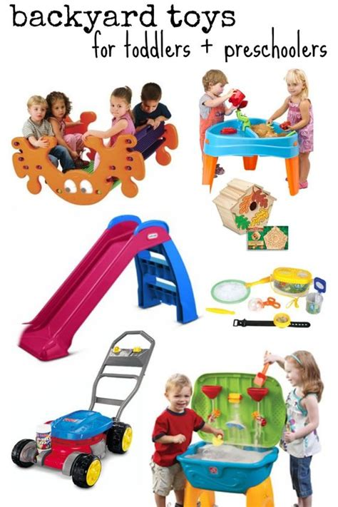 backyard toys for toddlers amp preschoolers toys 617 | bed1e9572676c74bdda00a8ca8c57482