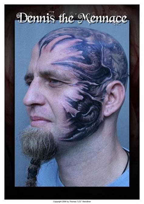 face tattoos popular tattoo designs