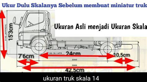 Pertama kita print dulu gambar atau model yang akan kita buat. Ukuran Kabin Truk Miniatur - Miniatur Truck Detail Ukuran Miniatur Truck Fe 71 Scale 1 8 Youtube ...