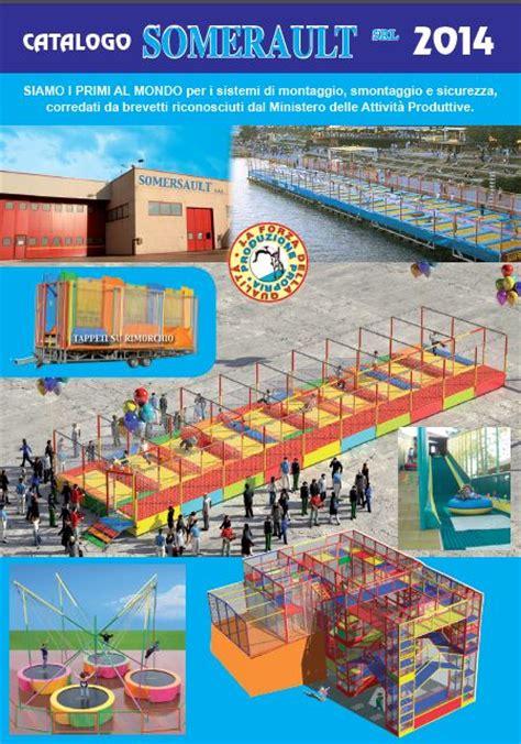 tappeti elastici per bambini catalogo produzione playground somersault fabbrica