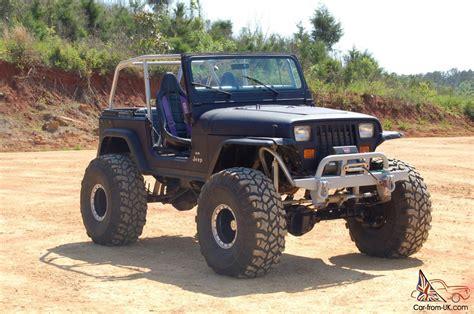 jeep rock crawler 1989 jeep wranger yj v8 rock crawler
