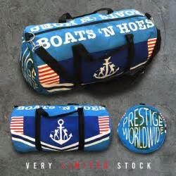 Boats And Hoes Duffle Bag womens clothing reco store