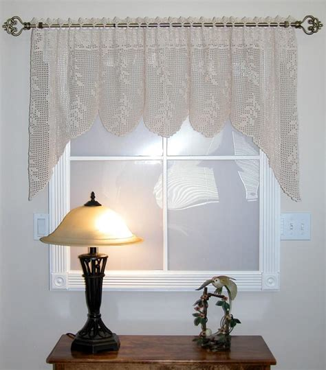 Kitchen Valances Ideas - 19 cool patterns for crochet curtains guide patterns